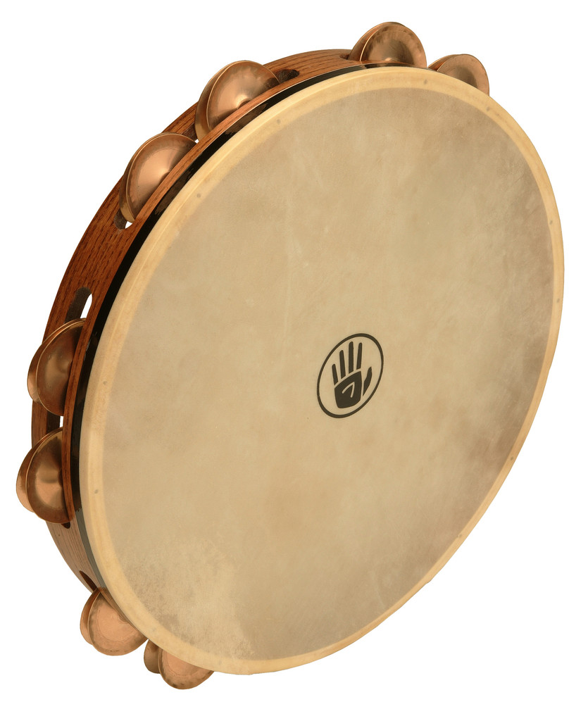 Pandereta Black Swamp Percussion T12-4