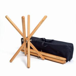 Pack de soportes de timbal barroco Litik