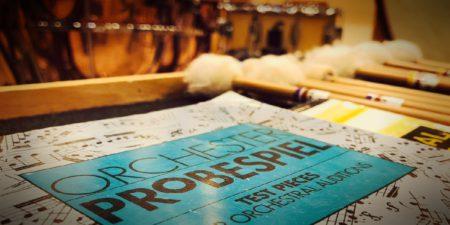 Orchester-Probespiel pruebas de orquesta alemana