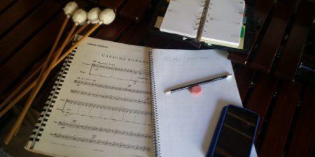 Tareas del líder de la sección de percusión